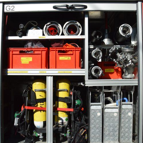 4Stk. Atemschutzgeräte 300bar 2Stk. Ersatzflaschen